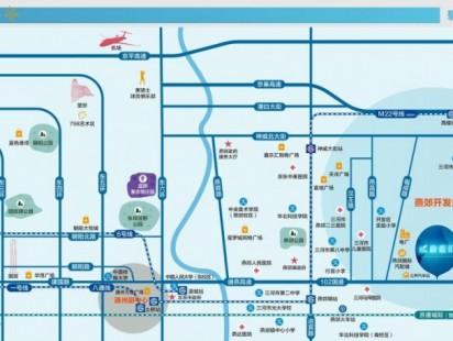 蔚蓝汇交通图
